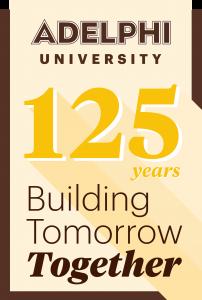Adelphi University's 125th Logo