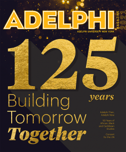 Adelphi Magazine Cover 125 Years: Building Tomorrow Together