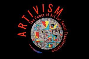 Logo: Artivism The Power of Art for Social Transformation