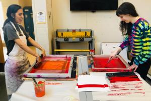 Printmaking at Adelphi