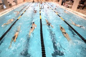 Swimming at Adelphi