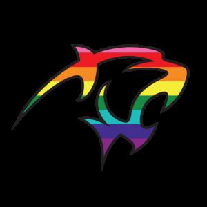 Adelphi Panther Pride Logo