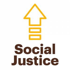 Social Justice with Up Arrow