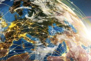 global flight paths