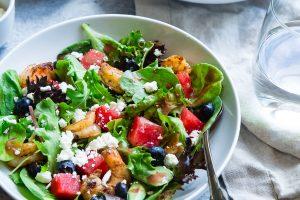 A nutritious salad