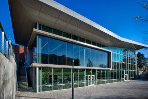 Exterior and Outdoor Terrace at the UC