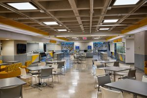 UC Dining Hall on the Lower Level