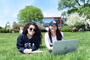 Get our campus experience from anywhere