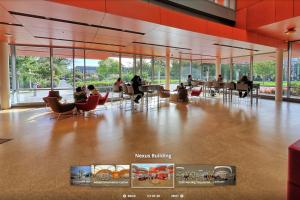 A view of our 360 virtual tour module