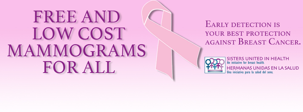 Free and Low Cost Mammograms For All