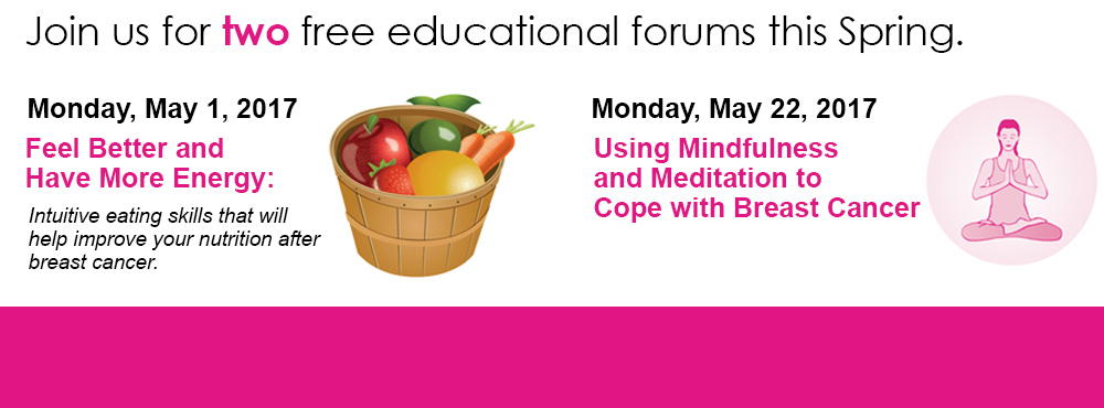 Two educational forums this Spring.