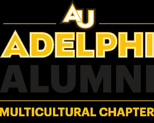 Adelphi University Alumni Logo Multicultural Chapter