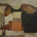 John Atherton   Green Mountain Farm   Oil on panel;   21 1/4 x 25 7/16 ins. (54 x 64.6cm)   Provenance: Mr. and Mrs. Albert Dorne