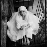 Black & white photograph of Robin Bowman.