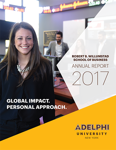 View the Willumstad School of Business Annual Report