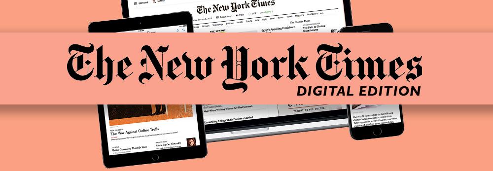 NY Times Digital Edition