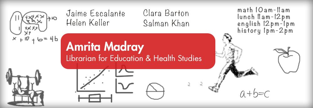 Amrita Madray - Librarian