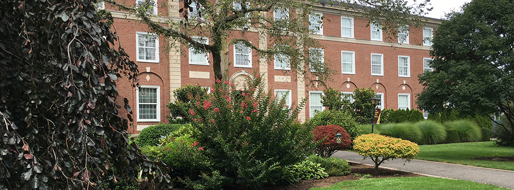 Exterior of Levermore Hall, Home of the College of Professional and Continuing Studies