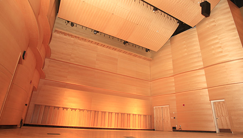 Concert Hall: View 1