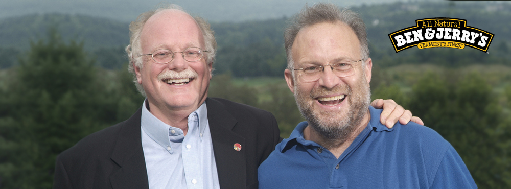 Photo of Ben Cohen and Jerry Greenfield