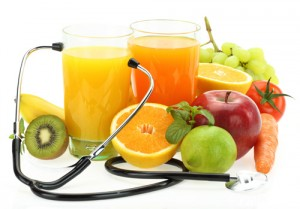 nutrition fruit stethoscope