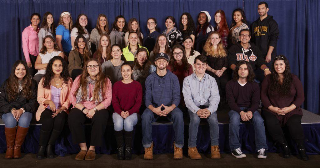 Club photo (2016-2017) of the Future Teachers Association Club