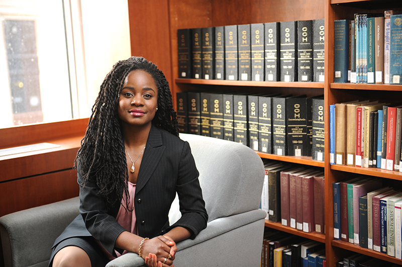 TaLona Holbert graduated from Adelphi and went on to study law