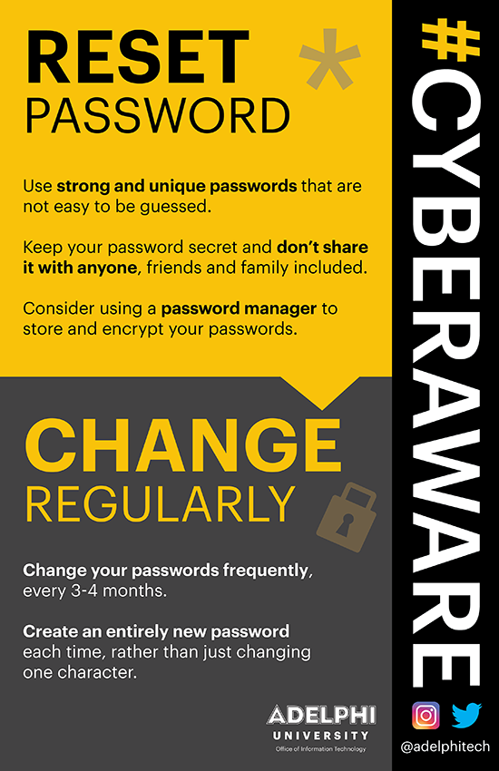Cyber Awareness Campaign - Password Security