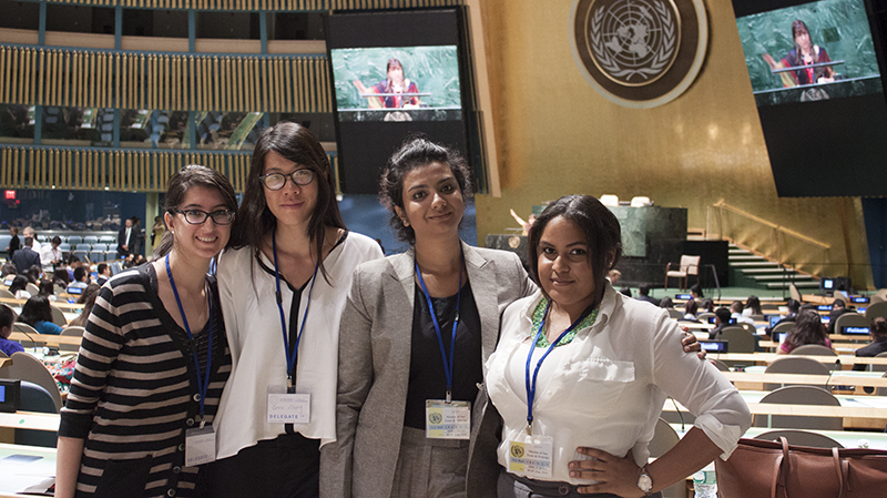 LGS Adelphi students visit the United Nations