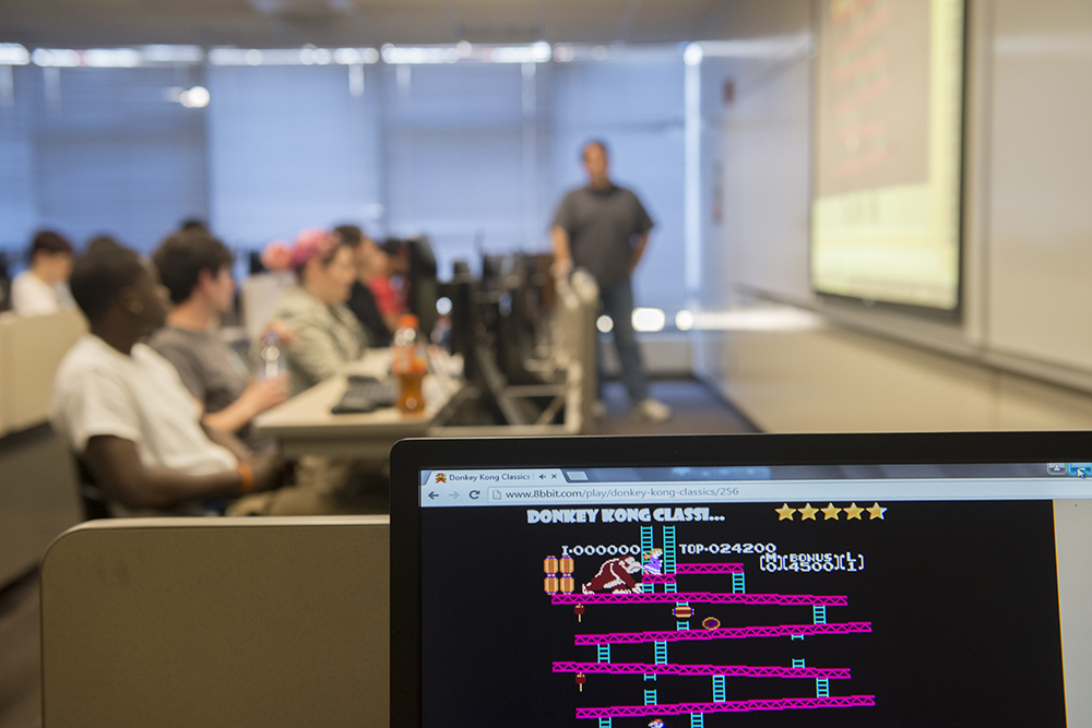 Adelphi game design and computer programming