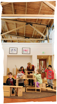 Inside the Alice Brown Early Learning Center