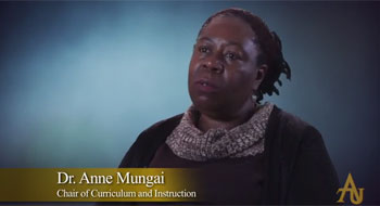 Anne Mungai - Faculty Voices