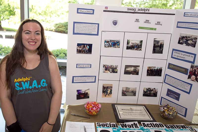 Adelphi SWAG student involvement