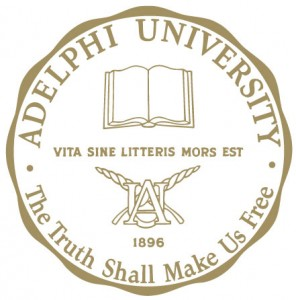 Seal And Motto Adelphi University