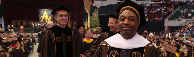 Adelphi Alumnus Carlton Ridenhour '84, '13 (Hon.), better known as Chuck D
