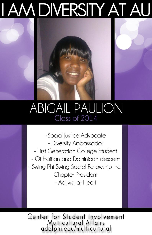 I Am Diversity - Abigail Paulion