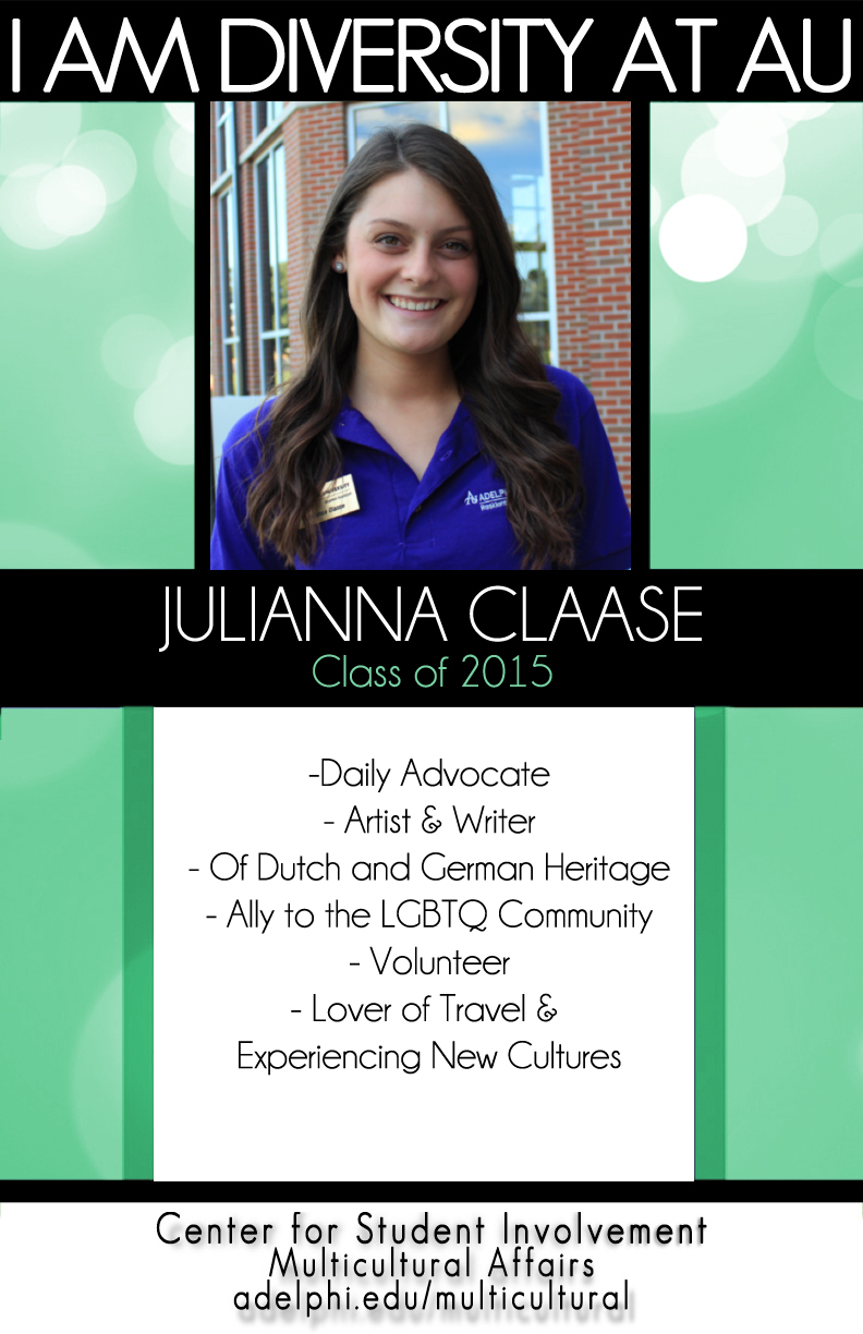 I Am Diversity - Julianna Claase