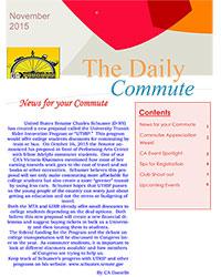 Commuter Newsletter November 2015