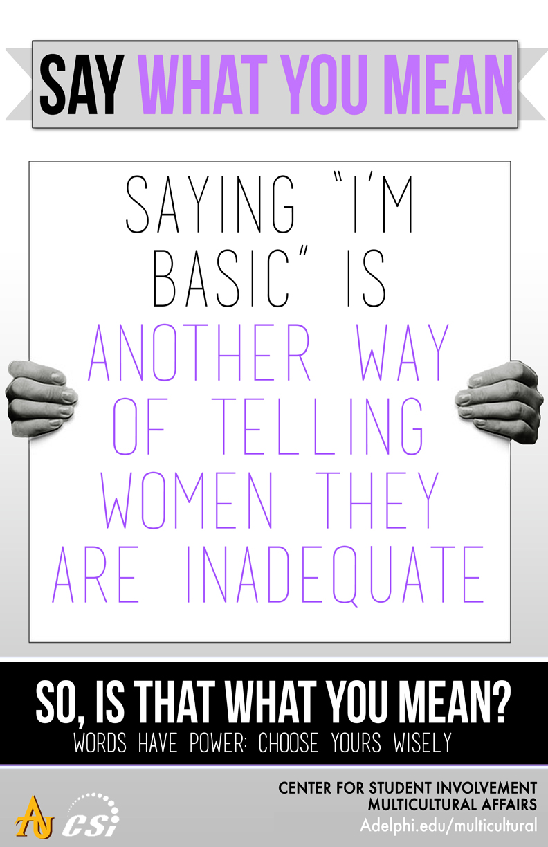 Say What You Mean - I'm Basic
