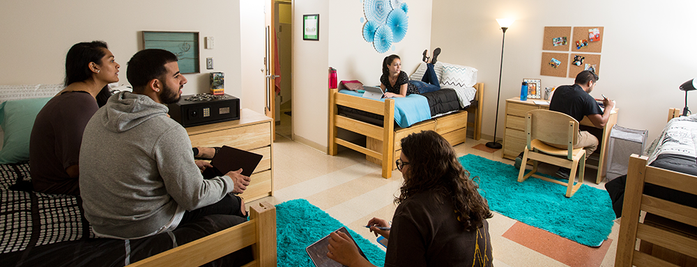 Have Questions about living on campus?