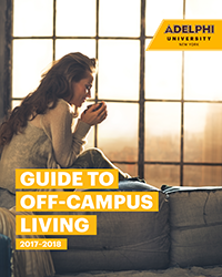 Adelphi Guide To Off Campus Housing Cover