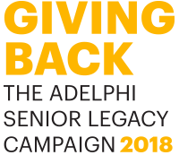 Giving Back - The Adelphi Senior Legacy Campaign 2018 - Logo