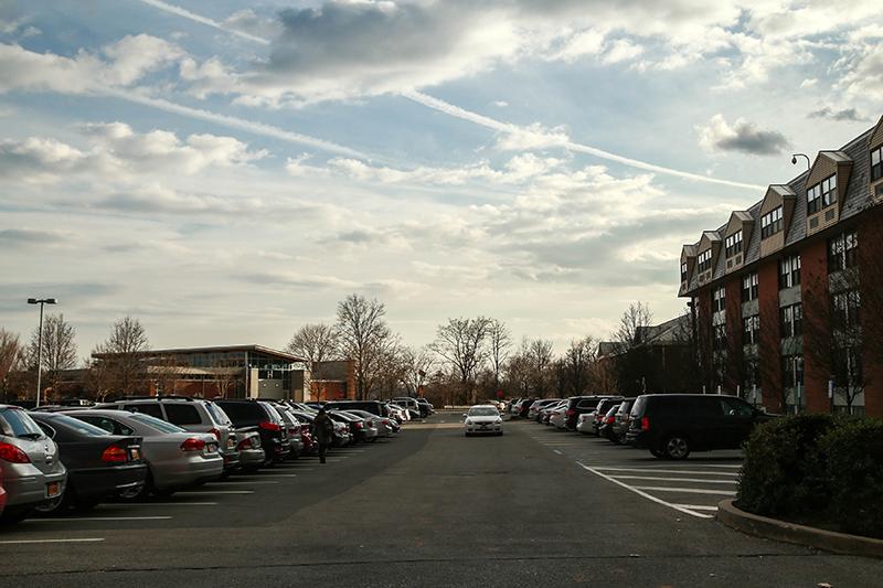 Parking at Adelphi University