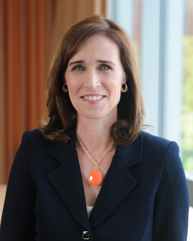 Meet Dr. Christine M. Riordan, Adelphi president official headshot
