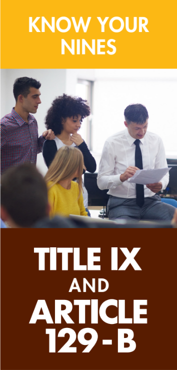 Title IX and Article 129-B Brochure