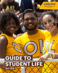 Guide to Student Life at Adelphi Cover