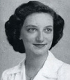 Dr. Betty Forest '47 as a student