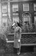 Margaret Glaubitz (née Hess) '47 as a student