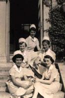 Xenia Christiansen (née Abreu) '54 with her fellow nursing students