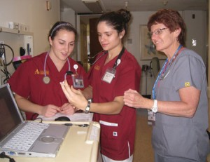 Nursing Students Get Experience Through Practice